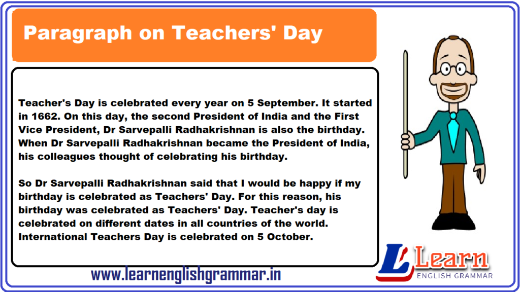 Teachers day in india essay literary analysis of funeral blues